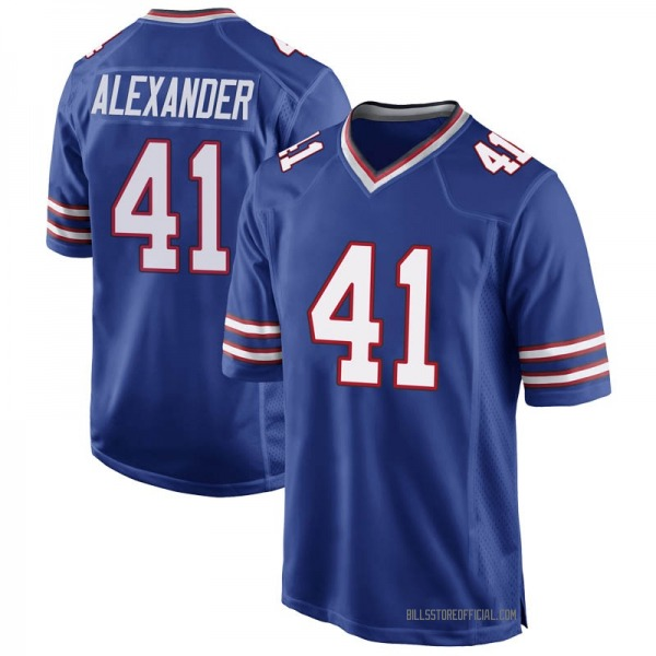 Youth Maurice Alexander Buffalo Bills Game Royal Blue Team Color Jersey
